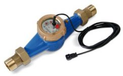 Water Meter with Pulse Output